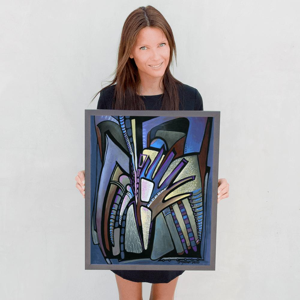 Deyana Deco - WINGS Framed Poster 16x20