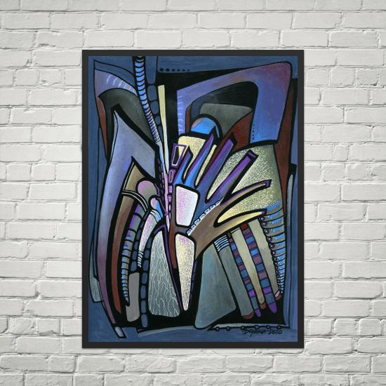 Deyana Deco - WINGS Framed Poster 18x24