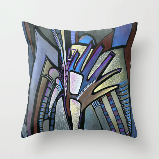 Deyana Deco - WINGS Throw Pillow 18x18